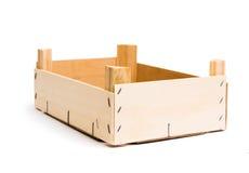 Wooden empty box Stock Image