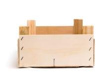 Wooden empty box Stock Photos