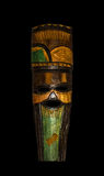 Wooden ethnic tribal mask. South Africa. Craftsmanship. Royalty Free Stock Photography