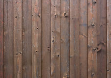 Wooden exterior wall Royalty Free Stock Images