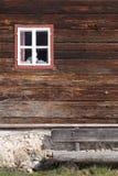 Wooden facade Stock Photos