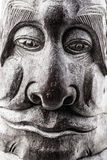 Wooden face Royalty Free Stock Image