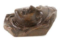 Wooden Face of St Teresa of Avila Stock Photo