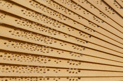 Wooden fan Royalty Free Stock Photo