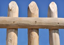 Wooden fance Royalty Free Stock Image