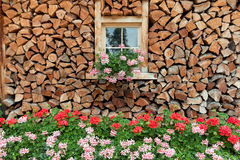 Wooden Farm House Stock Image