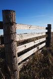 Wooden Farmland Fence Stock Image