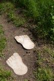 Wooden feet Stock Photography