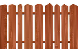 Wooden fence. Royalty Free Stock Images