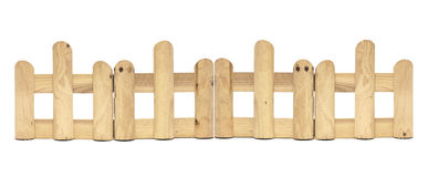 Wooden fence Royalty Free Stock Images