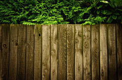 A wooden fence Stock Photos