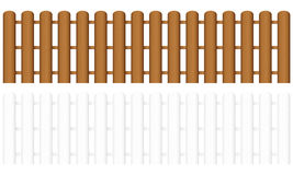 Wooden fence 3 Royalty Free Stock Photo