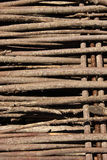Wooden fence Royalty Free Stock Photography