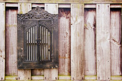 Wooden fence abstract Royalty Free Stock Image