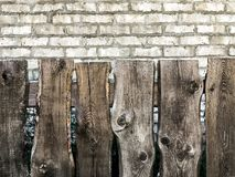 A wooden fence for the background royalty free stock photos
