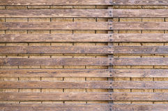 Wooden fence background. Close up Stock Photo