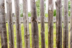 Wooden fence in the background Royalty Free Stock Images