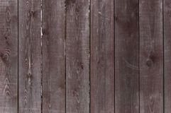 Wooden fence background. Dark wooden fence background close up Stock Photo