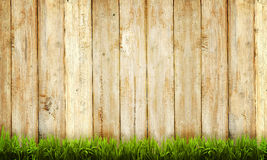 Wooden Fence Background Stock Image