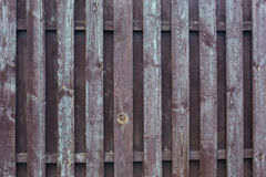Wooden fence background Stock Photo