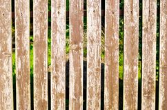 Wooden fence as background Royalty Free Stock Photo