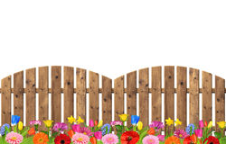 Wooden fence Royalty Free Stock Photos