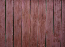 Wooden fence. Wooden boards set vertically next to each other Stock Images