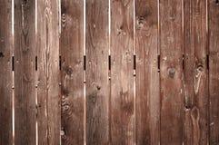 Wooden fence closeup Royalty Free Stock Photos