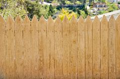 Dirty wooden fence Stock Photography