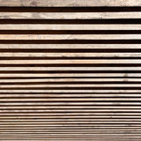 Wooden fence with the effect of dizziness Royalty Free Stock Photos