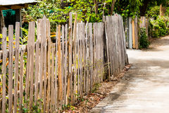 Wooden fence, home fence, background texture. Wooden home fence, background texture Royalty Free Stock Image