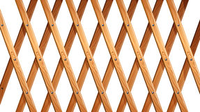 A wooden fence Royalty Free Stock Photography