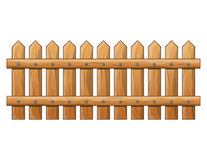 Wooden Fence isolated vector symbol icon design. Beautiful illus Stock Photography