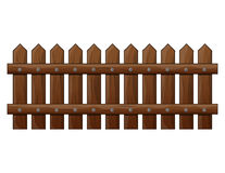 Wooden Fence isolated vector symbol icon design. Beautiful illus Royalty Free Stock Image