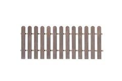 Wooden fence isolated on white background. Endless wooden fence isolated on white background royalty free stock image