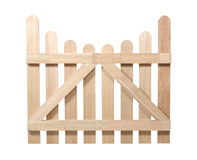 Wooden fence Stock Images