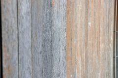 Wooden fence of Japanese house on sunlight. Japanese wooden stockade of home on sunshine Royalty Free Stock Photos