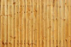 Wooden Fence - landscape. Vertical planks Stock Photo