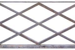 Wooden fence lattice. Royalty Free Stock Photo