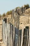 The wooden fence. Stock Photos
