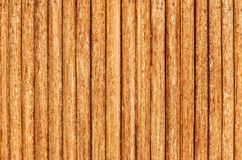 Wooden fence. Old fence of wooden stakes wooden background Stock Image