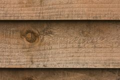 Wooden fence panel Stock Image