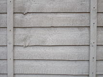 Wooden fence panel Royalty Free Stock Images