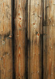 Wooden fence panels Stock Images