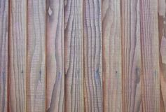 Wooden fence panels / timber planks Stock Photos