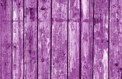 Free Wooden Fence Pattern In Purple Tone. Royalty Free Stock Image - 112185786