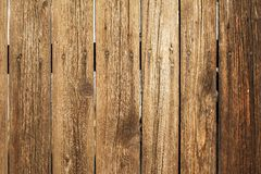 Wooden fence. Photo of wood plank texture Stock Photo