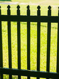 Wooden fence picket. View of Wooden fence picket stock photography