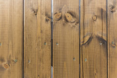 Wooden fence. Wooden plank fence brown color Royalty Free Stock Photo