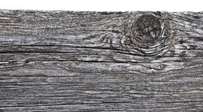 Wooden fence post in closeup view Royalty Free Stock Images